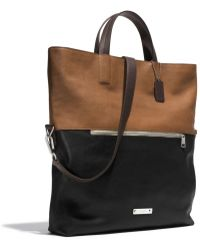 Coach Thompson Foldover Tote  - Lyst