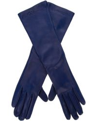 Giorgio Armani - Long Leather Gloves - Lyst