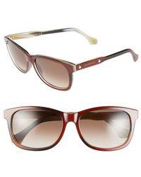 Balenciaga 57Mm 'Ba0019' Sunglasses - Lyst
