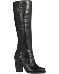 French Connection Avia Knee High Boots - Lyst