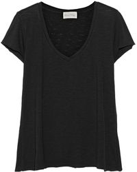 American Vintage Jacksonville Cotton Blend Jersey T-Shirt - Lyst
