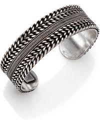 Dannijo Tomma Multi-chain Cuff Bracelet - Lyst