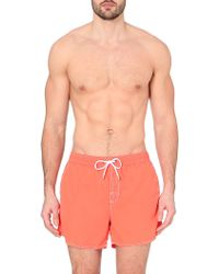 Hugo Boss Lobster Swim Shorts - For Men - Lyst