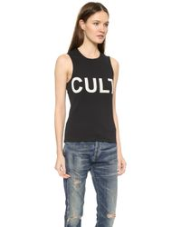 McQ by Alexander McQueen Cult Tank Top - Cult Placed - Lyst