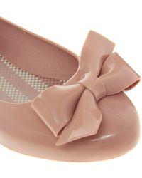 Mel by Melissa - Tangerine Bow Flat Shoe - Lyst