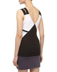 Jay Godfrey Geometric Colorblock Cocktail Dress - Lyst