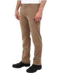 7 For All Mankind Slimmy in Sand - Lyst