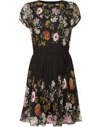 Oasis | Opium Pleat Dress | Lyst