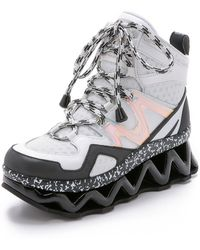 Marc By Marc Jacobs Ninja Sneakers - Off White/Black - Lyst