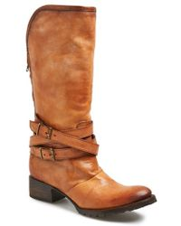 Freebird by Steven 'Dillon' Leather Tall Boot brown - Lyst