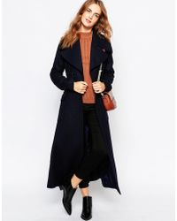 Cooper & Stollbrand | Full Length Trench Coat With Tie Belt | Lyst