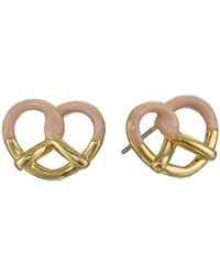 Marc By Marc Jacobs Sweet Pretzel Studs Earring - Lyst