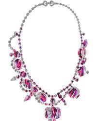 Tom Binns - Marbled Crystal Necklace - Lyst