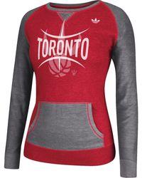 Adidas Women'S Toronto Raptors Ballah Crew Sweatshirt - Lyst