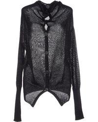 Vivienne Westwood Anglomania Cardigan black - Lyst