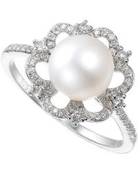 Amore Argento - Vintage Pearl Ring - Lyst