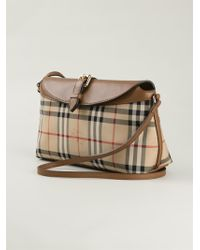 Burberry Classic Check Shoulder Bag - Lyst