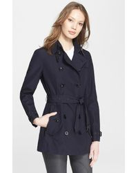 Burberry Brit Brooksby Double-Breasted Trench Coat - Lyst