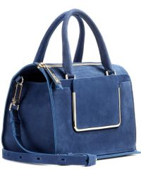 Roger Vivier Shopping U Small Suede Tote - Lyst