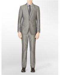 Calvin Klein X Fit Ultra Slim Fit 2-Piece Suit - Lyst