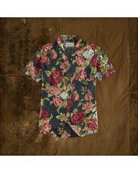 Denim & Supply Ralph Lauren Floral Short-Sleeved Shirt - Lyst