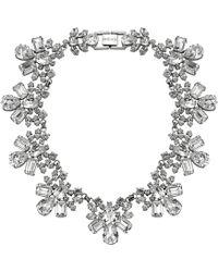 Mews London - Crystal Collar Necklace - Lyst