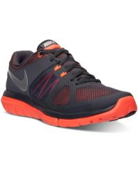 Nike Mens Flex Run Running Sneakers From Finish Line - Lyst