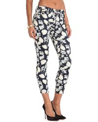7 For All Mankind The Cropped Skinny - Lyst