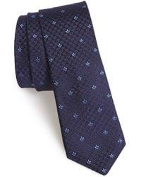 John Varvatos Woven Silk Tie - Lyst