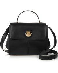 Christopher Kane Embellished Leather Shoulder Bag - Lyst