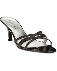 Rampage Frankie Dress Sandals black - Lyst