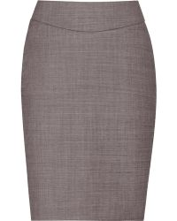 Reiss Ginger Fitted A-line Skirt - Lyst