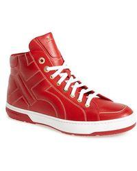 Ferragamo 'Nicky' High Top Sneaker - Lyst