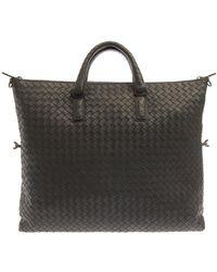 Bottega Veneta Intrecciato Leather Convertible Tote - Lyst