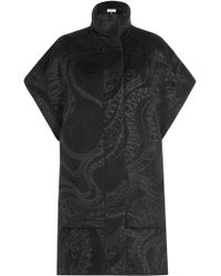 Emilio Pucci - Evening Coat With Alpaca And Virgin Wool - Lyst