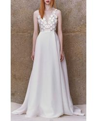 Honor Gown With Embellished Bodice - Lyst