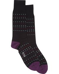 Paul Smith Micro Square Socks - Lyst