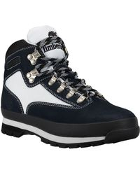 Timberland The Euro Hiker Leather and Fabric Boot - Lyst