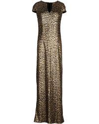Just Cavalli Long Dress - Lyst