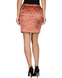 See By Chloé Pink Mini Skirt - Lyst