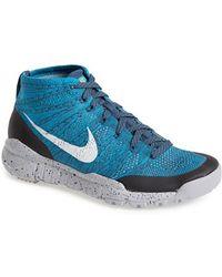 Nike 'Flyknit Trainer Chukka Fsb' Sneaker - Lyst