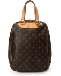 Louis Vuitton Brown Excursion Handbag - Lyst