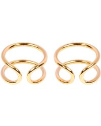 Coops London - Small Squeeze On Earrings - Lyst