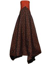 OSMAN | Sherazade Strapless Jacquard Gown | Lyst