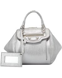 Balenciaga Giant Nickel Zip Traveler Extra-small Backpack - Lyst