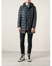 Herno Hooded Padded Coat - Lyst