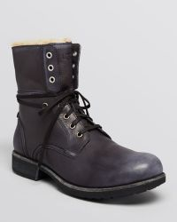 Ugg Larus Military Boots - Lyst
