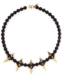 Joomi Lim - Arrowhead Spike Bead Necklace - Lyst