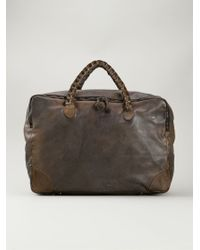 Numero 10 - Distressed Luggage Bag - Lyst