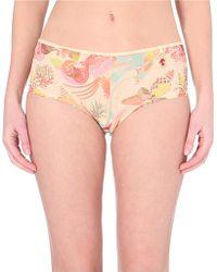 Marlies Dekkers Oriental Morphosis Mesh Shorts - Lyst